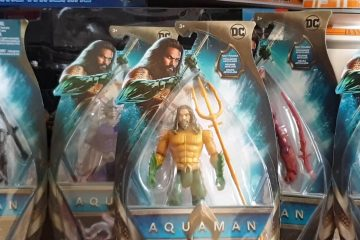 Mattels Aquaman Action Figures