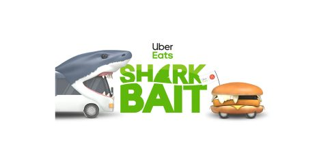 Uber Eats Shark Bait Lets Play Live