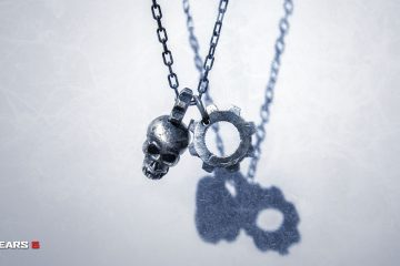 Gears 5 Jewellery - Pendant Necklace (Landscape)