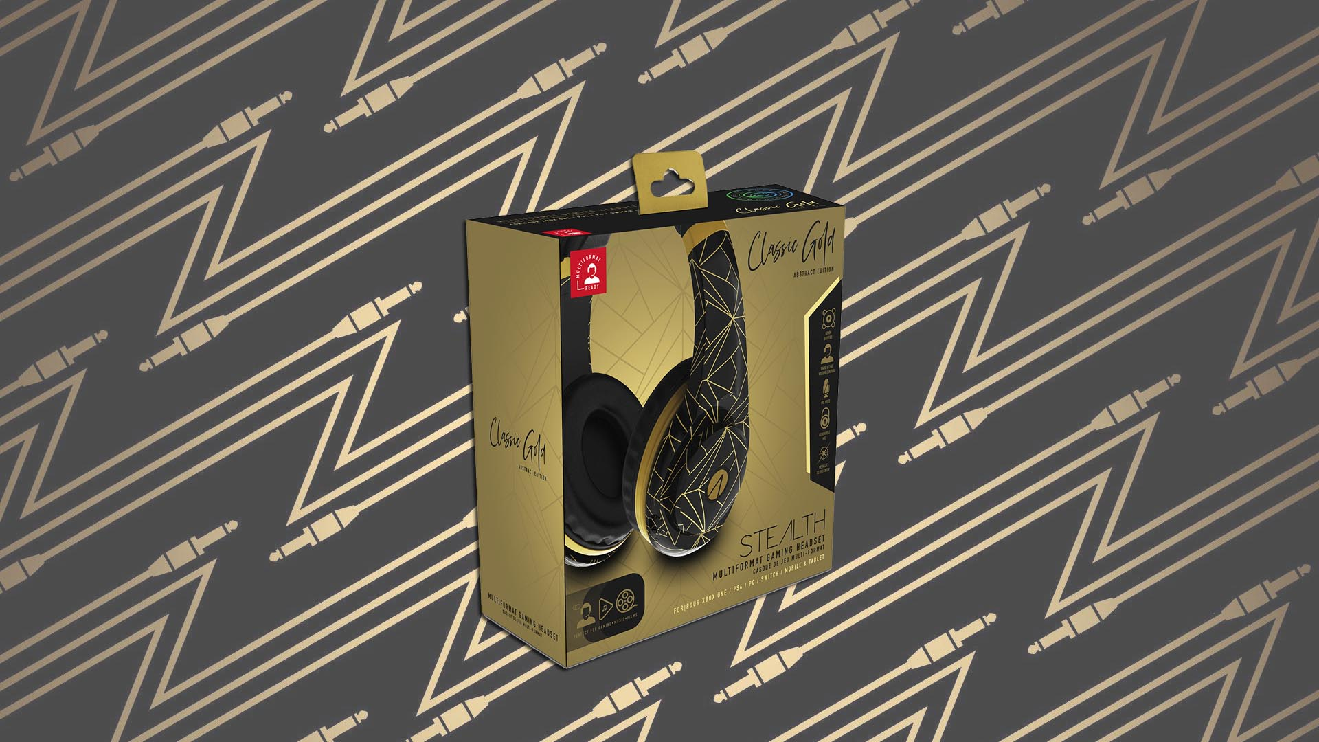 Stealth Gold Classic Headset