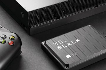 Western Digital Black P10 SSD External Video Gaming Hard Drive