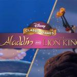 Disney Classics Aladdin and The Lion King