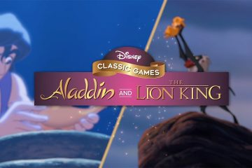 Disney Classics Aladdin and The Lion King