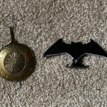 DC Kuzos - Batarang and Wonder Woman Sword and Shield Steel Collectible