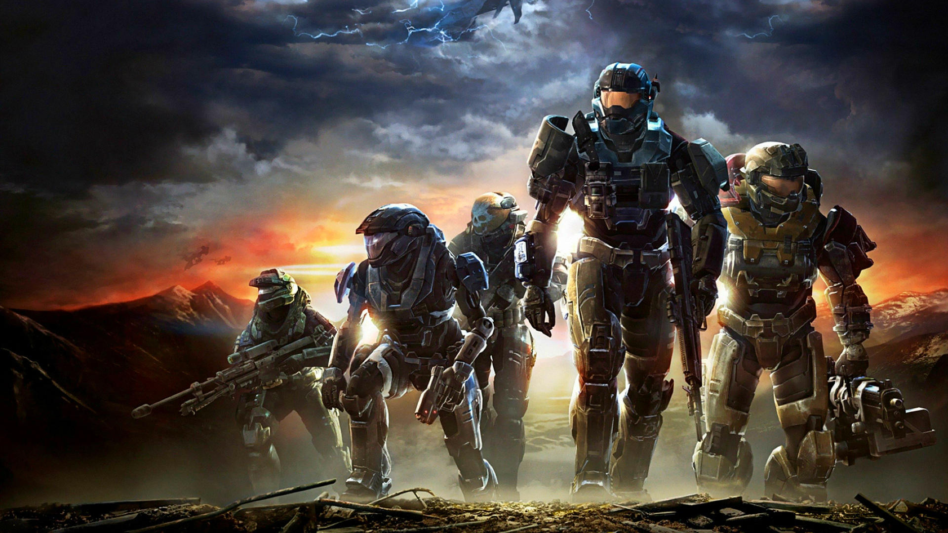 Halo Reach Available Now With The Master Chief Collection Stg