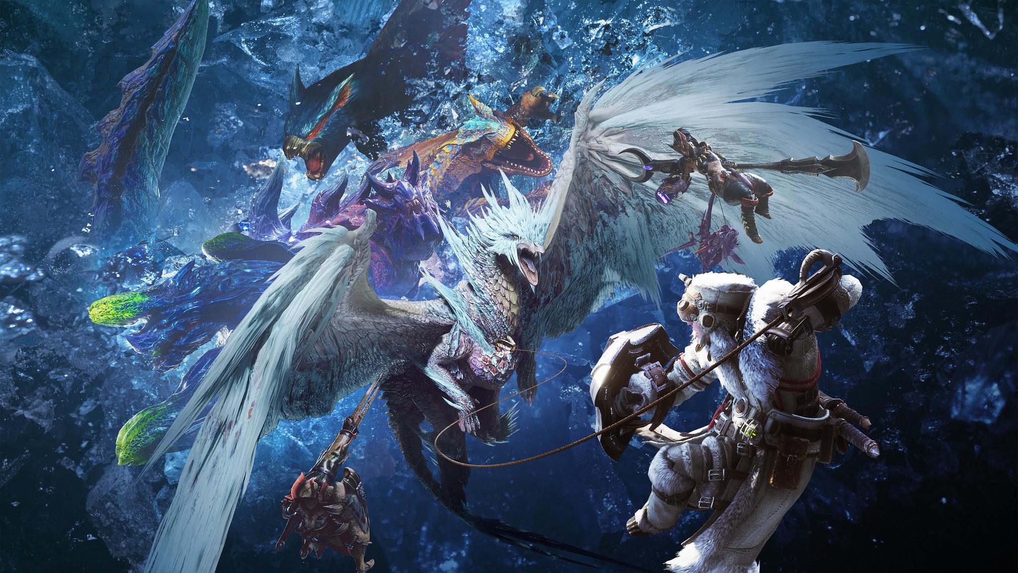 Monster Hunter World Iceborne Updates Stg