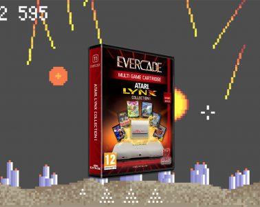 Atari Lynx Cartridge Games - Atari Evercade Console