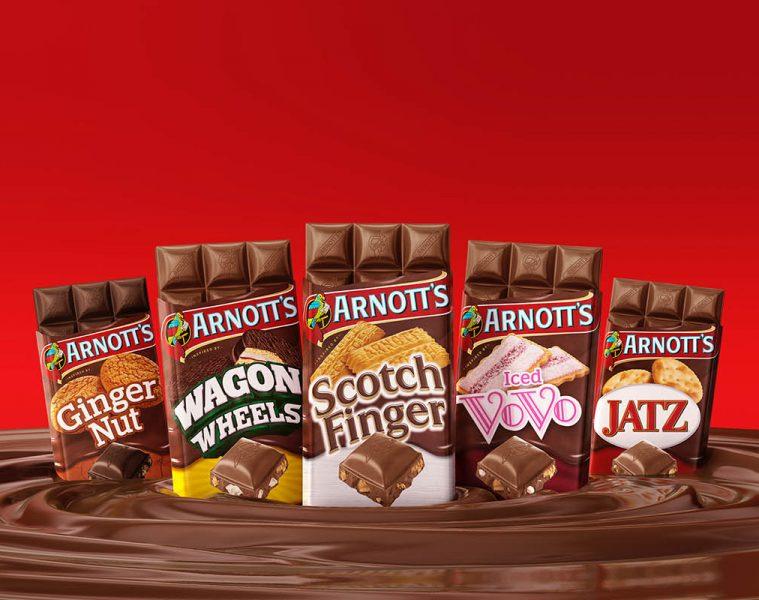 Arnotts Chocolate Range
