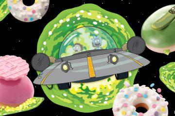 Krispy Kreme - Rick and Morty Limited Edition