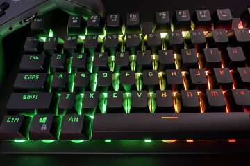 PowerPlay Mechanical-Sense Gaming Keyboard