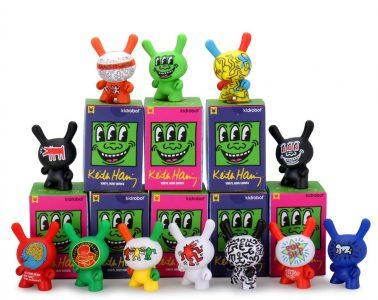 Kidrobot x Keith Haring Mini Figures
