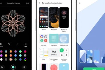 OPPO Color OS11 - Customization UI