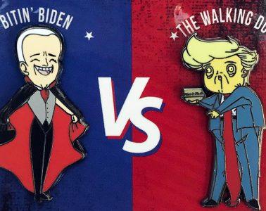 Presidential Horror Pins - Factory Entertainment