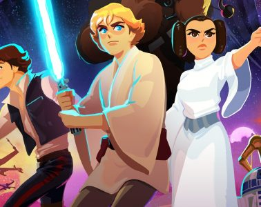 Disney Anime Star Wars